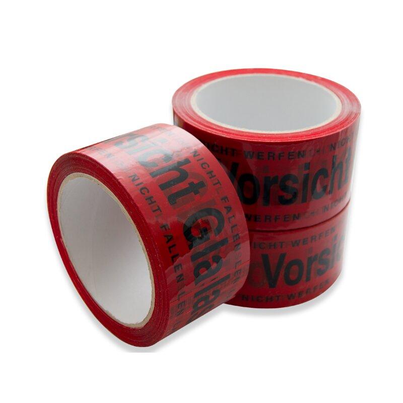 klebeband vorsicht glas 50 mm x 66 m. Black Bedroom Furniture Sets. Home Design Ideas