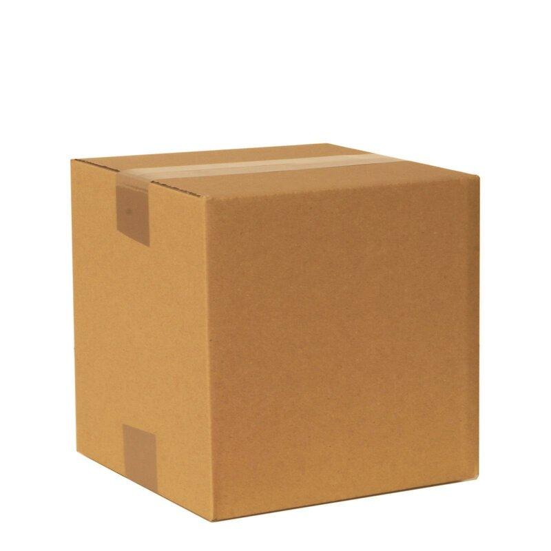 Faltkarton 2-wellig 200 x 200 x 200 mm; Karton; Pappkarton; Versandkarton; §4