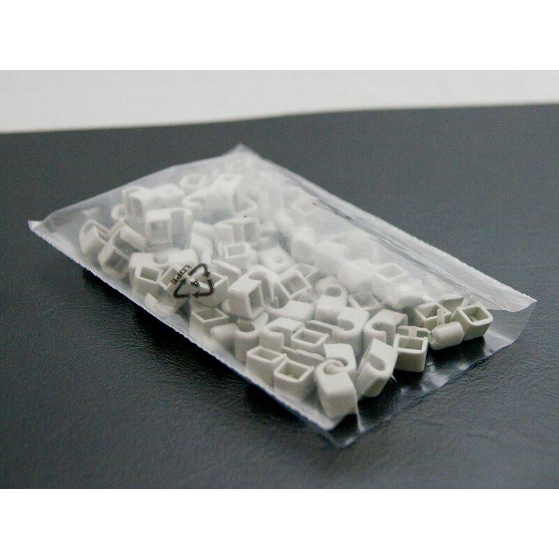 Flachbeutel Plastiktüte Plastikbeutel PE-Beutel 300 x 400 mm 50my transparent