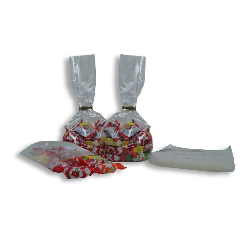 1000x OPP-Blockbodenbeutel Siegelnaht 55+35x180mm 40my Teebeutel Beutel Tüten